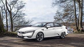Saubere Alternative: Honda vollzieht mit Wasserstoff-Auto Clarity Technologiesprung