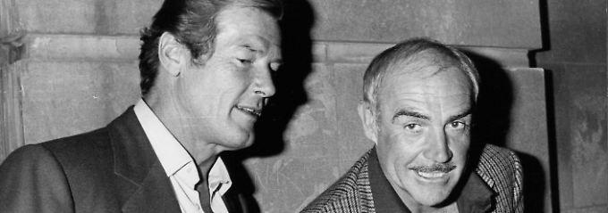 Daniel Craig, Sean Connery & Co.: Stars verabschieden sich von Roger Moore