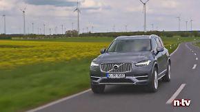 Stadtfahrt mit dem Schweden: Volvo XC90 T8 - der hybride Riese