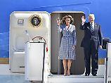US-Präsident in Brüssel: Trump strahlt, wenn die Nato zahlt