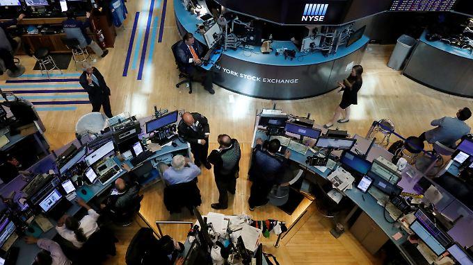 """Warnzeichen an der New Yorker Börse: """"Wir denken, dass positive Überraschungen nötig sein werden."""""""