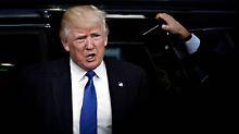 Ist nicht einverstanden mit dem deutschen Handelsüberschuss: Donald Trump.
