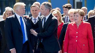 US-Präsident in Brüssel: Sechs Lehren des Nato-Gipfels mit Trump