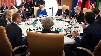 Trump gegen den Rest der Welt: G7-Gipfel wird zum Debakel