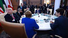 Bekenntnis zu offenen Märkten: G7 entschärfen Handelsstreit mit den USA