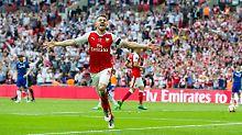Rekordtitel nach Chaossaison: Arsenal stoppt Chelsea und gewinnt Pokal