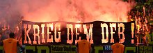 "DFB sieht ""kriminelle Energie"": BVB und Frankfurt droht Pyro-Ärger"