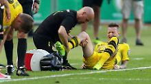 Kein Kreuzband-Totalschaden: BVB-Pechvogel Reus hat Glück im Unglück