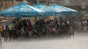 Im Osten bis zu 35 Grad: Dienstag drohen gebietsweise heftige Unwetter