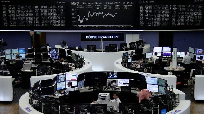 Wie kommt Europa ohne die USA aus? Der Dax zu Wochenbeginn.