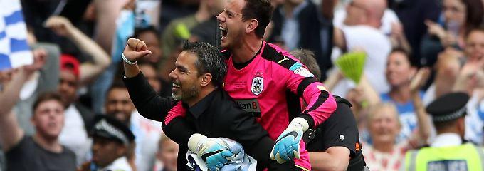 """Erfolgreiche """"Wagner-Revolution"""": Huddersfield steigt in Premier League auf"""