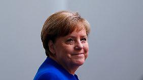 Schmucklos, rational, bescheiden: Kanzlerin Angela Merkel.