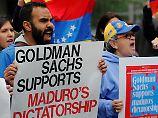 """Goldman Sachs' Venezuela-Wette: Opposition kritisiert """"Hungerbonds"""" scharf"""