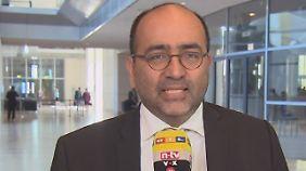 Omid Nouripour ist außenpolitischer Sprecher der Grünen-Fraktion im Bundestag..