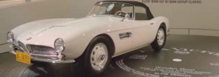 Ein Hauch Rock'n'Roll in München: BMW lässt Elvis' legendären Flitzer auferstehen