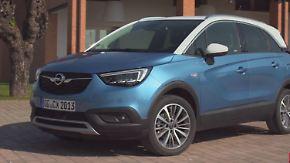 Komfortabler Familienallrounder: Opel Crossland X tarnt sich als Geländewagen