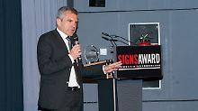 SignsAward für n-tv: Hans Demmel ist Zeichensetzer des Jahres