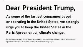 """""""Setzt Wohlstand der USA aufs Spiel"""": Hunderte US-Unternehmen stellen sich gegen Trump"""