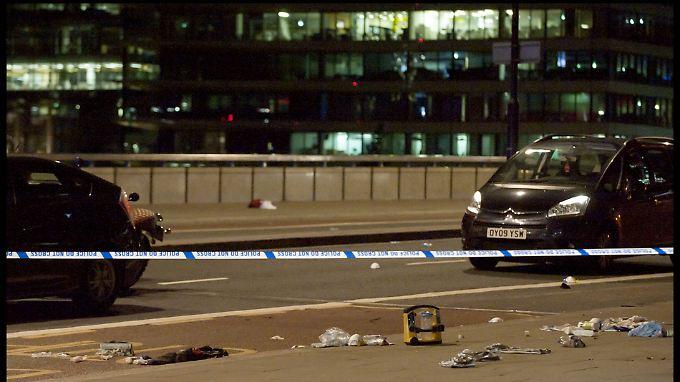 Der Angriff begann auf der London Bridge.