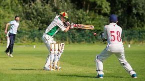 Traum von großen Titeln: Flüchtlinge sorgen für Cricket-Boom in Deutschland