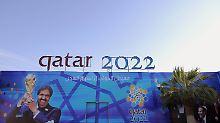 Die Fußball-WM 2022 soll in Katar stattfinden. Die Vergabe ist höchst umstritten.