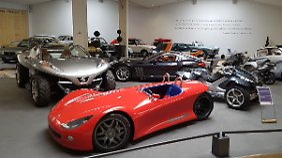 Gerade die Studien wecken Begehrlichkeiten beim Besuch des Peugeot-Museums.