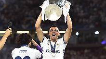 Pepe verlässt Real Madrid als Champions-League-Sieger.