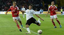 Lars Stindl bestritt mit 28 Jahren sein erstes Länderspiel. Und er hofft auf weitere Einsätze.