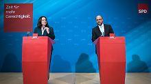 Neuer Generationenvertrag: SPD: Rentenniveau soll nicht weiter sinken