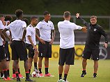 Schuften für den Erfolg: Die DFB-Junioren träumen davon, ähnlich erfolgreich zu werden wie ihre Vorgänger von 2009.