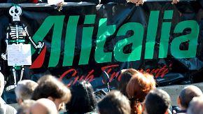 Alitalia trotz 32 Interessenten in Not: Wunsch-Käufer Lufthansa interessiert sich nur für Slots