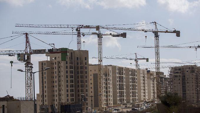 Der Bau von Siedlungen auf besetzten Palästinensergebieten wird von der Uno als illegal veruteilt.