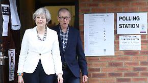 Zentrales Thema: Sicherheit: Großbritannien wählt neues Parlament