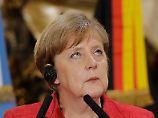 Angela Merkel zu Besuch in Buenos Aires.