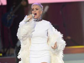 """Live sah man Perry vor Kurzem beim Benefizkonzert """"One Love Manchester""""."""