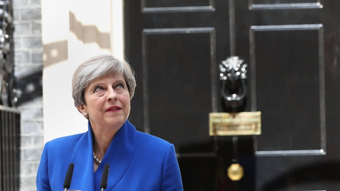 Theresa May will an der Macht bleiben.