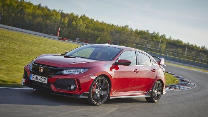 Der neue Honda Civic Type R ist ein extrem scharfer Kompaktsportler.