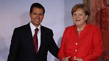 Mexiko sucht neue Verbündete: Merkel: Mauern lösen keine Probleme