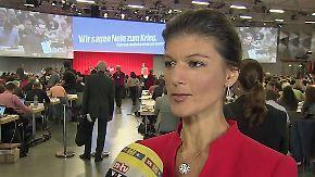 """Sahra Wagenknecht im n-tv Interview: """"Deutschlands Kriegsbeteiligung stärkt Terrorismus"""""""