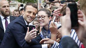 Erster Wahlgang für Parlament: Macron hat Chance auf absolute Mehrheit in Frankreich