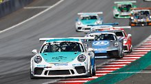 Porsche Carrera Cup: Olsen siegt und baut Gesamtführung aus