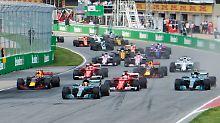 Doppelsieg für Mercedes: Lewis Hamilton gewinnt in Kanada