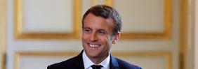 En Marche im Durchmarsch: Macrons Wahlsieg ist historisch