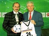 Uli Stielike und Erich Ribbeck - das Duo floppte beim DFB völlig.