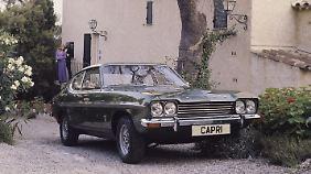 Ein cooles Coupé, aber von Anfang an technisch antiquiert. (im Bild: Ford Capri GXL 3000 V6)