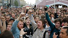 Nach Nawalny-Festnahme: Hunderte Demonstranten festgesetzt