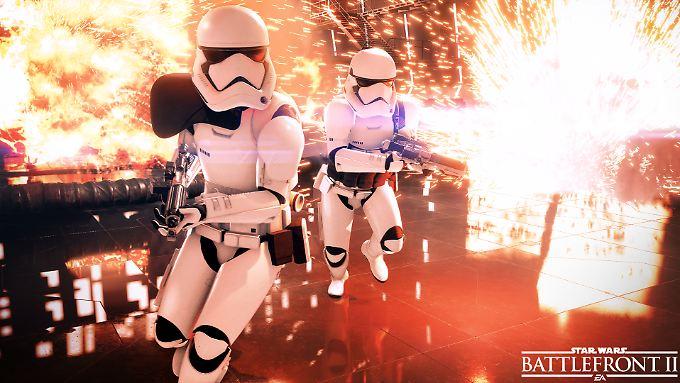 """""""Star Wars Battlefront 2"""" verspricht, ein Online-Kracher zu werden."""