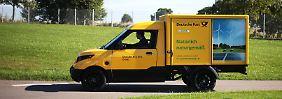 Produktion startet Juli 2017: Post und Ford bauen größeren E-Transporter