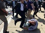 Protestler bei Besuch attackiert: USA ermitteln gegen Erdogans Leibwächter