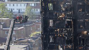 Viele Tote nach Hochhausbrand: Bergungseinsatz immer wieder wegen Einsturzgefahr unterbrochen